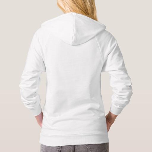 MJ Women's Pullover Hoodie (White) | Malek Jandali
